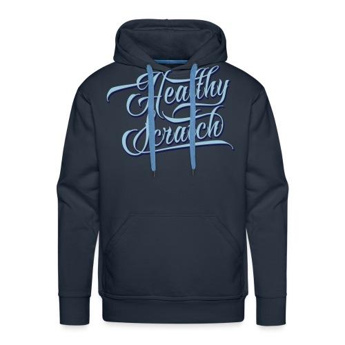 healthy_scratch_vectorize - Men's Premium Hoodie