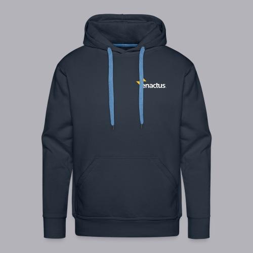 J'impacte le monde - Enactus France - Sweat-shirt à capuche Premium pour hommes