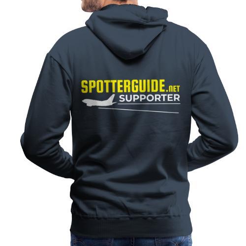 Spotterguide.net Supporter - Bluza męska Premium z kapturem