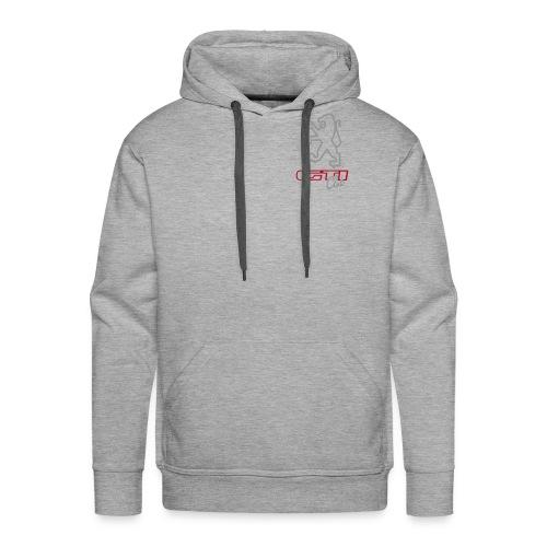 logo peugeot gti club ned - Mannen Premium hoodie