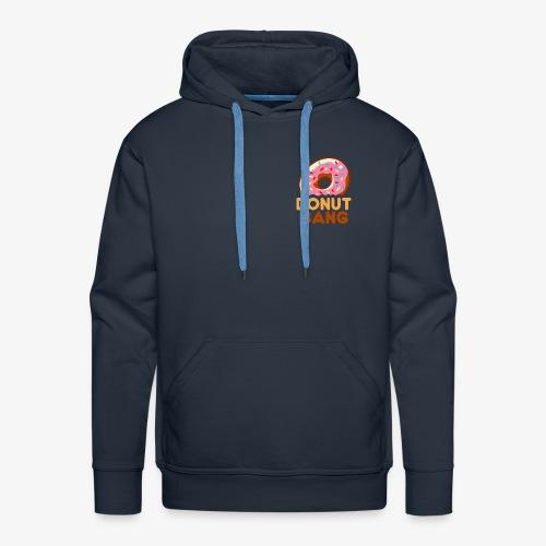 Donut Gang - Logo (med tekst) - Herre Premium hættetrøje