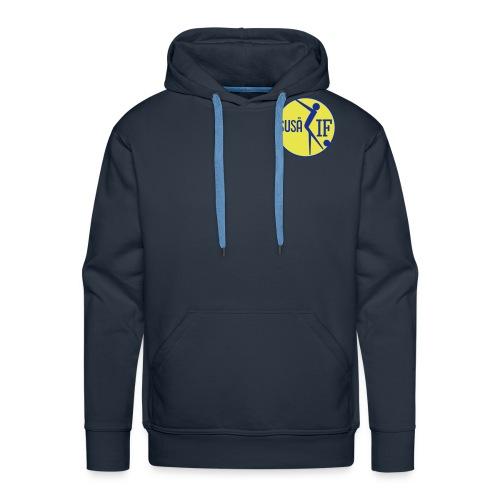 susaa logo 3 - Herre Premium hættetrøje