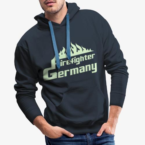 Firefighter Germany - Männer Premium Hoodie