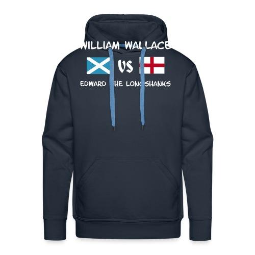 William vs Edward W - Männer Premium Hoodie