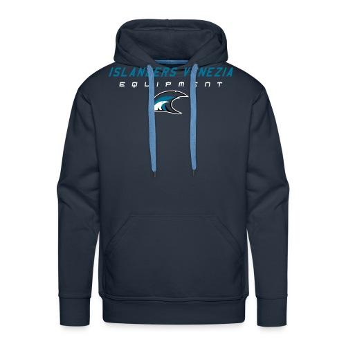 islanders equipment new logo - Felpa con cappuccio premium da uomo