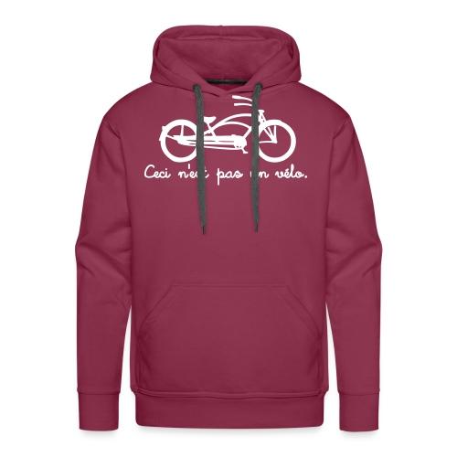 ceci2a - Sweat-shirt à capuche Premium pour hommes