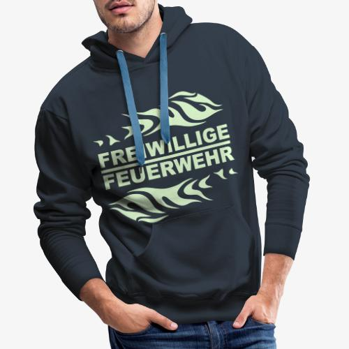 FFW Flame - Männer Premium Hoodie