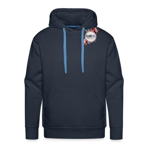 Logo 150x150 Clubs Dj Rad - Sweat-shirt à capuche Premium pour hommes