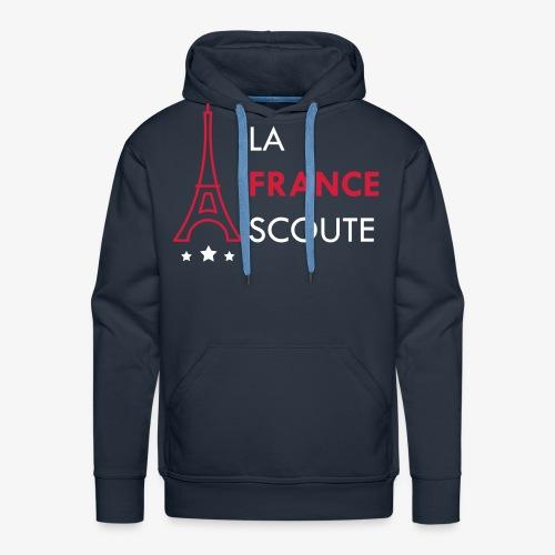 Eiffel Scout - Sweat-shirt à capuche Premium pour hommes