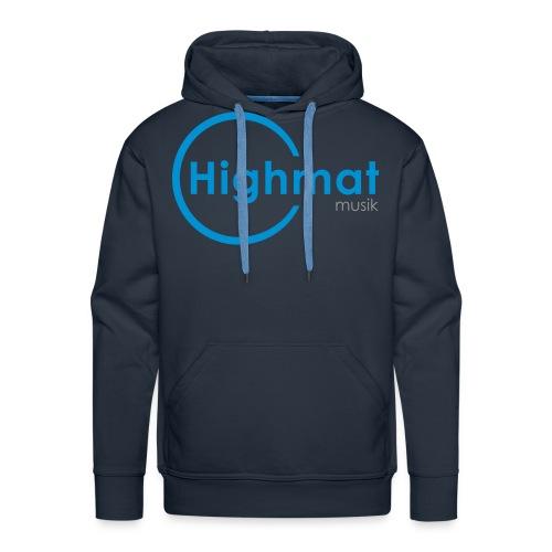 Highmatmusik Logo Shirt *SlimFit* - Männer Premium Hoodie