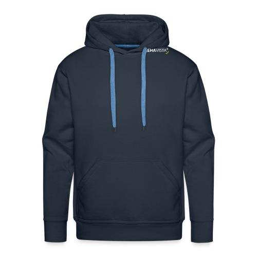 rehavista-logo-weiss-grue - Männer Premium Hoodie