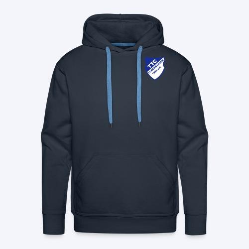 TTC Wappen weiß - Männer Premium Hoodie