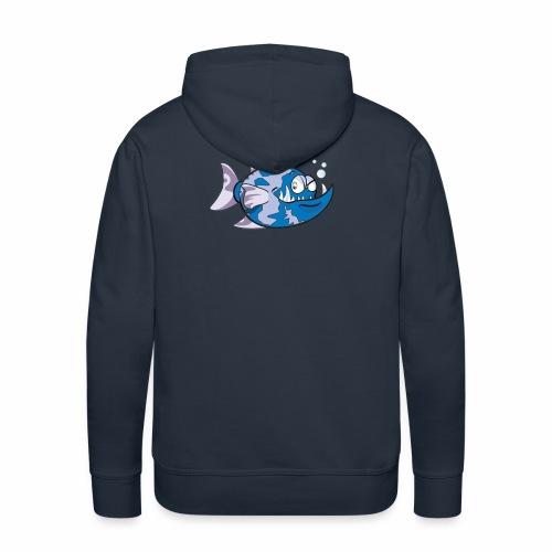 poisson - Sweat-shirt à capuche Premium pour hommes