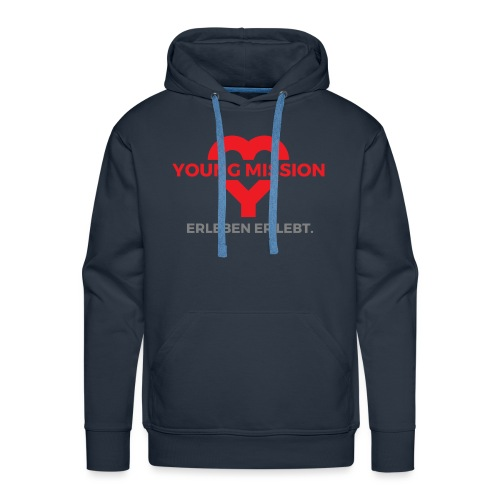 YOUNG MISSION - Männer Premium Hoodie