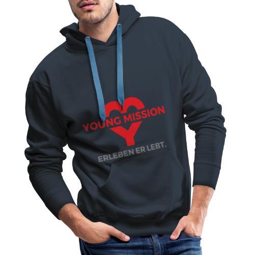 YOUNG MISSION - Männer Premium Hoodie