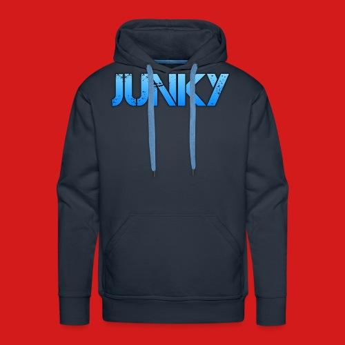 Junky Skate Blue - Men's Premium Hoodie