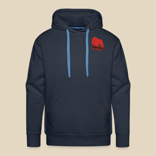 Red Gorilla - Sweat-shirt à capuche Premium pour hommes