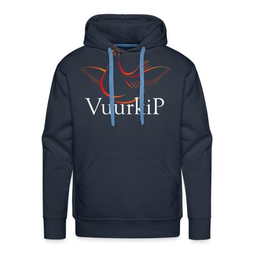 Vuurkip - Mannen Premium hoodie