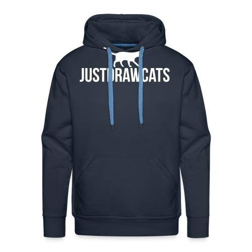 JustDrawCats Logo - Mannen Premium hoodie