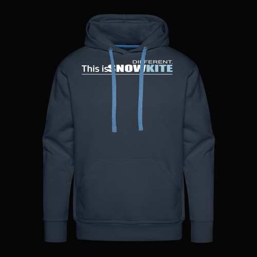 this is snowkite - Sweat-shirt à capuche Premium pour hommes
