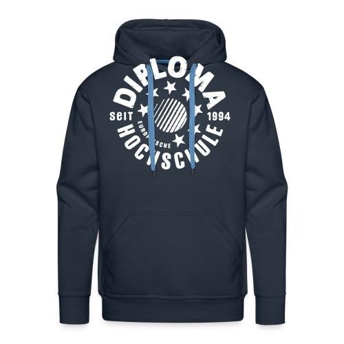 DIPLOMA vintage - Männer Premium Hoodie