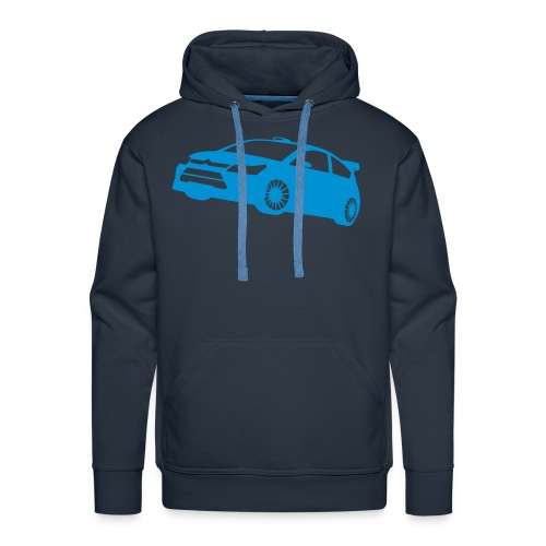 C4 WRC - Felpa con cappuccio premium da uomo