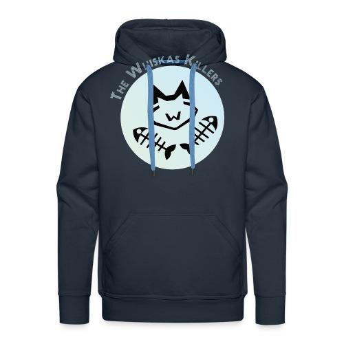 Logo Nom WK - Sweat-shirt à capuche Premium pour hommes