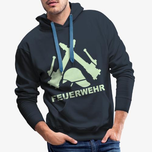 Feuerwehr C Rohr - Männer Premium Hoodie