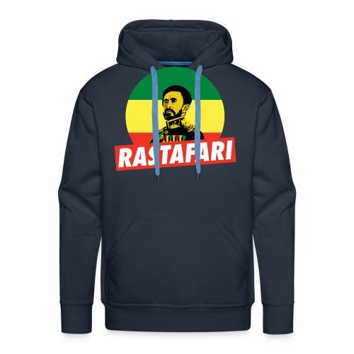 Haile Selassie - Emperor of Ethiopia - Rastafari - Männer Premium Hoodie