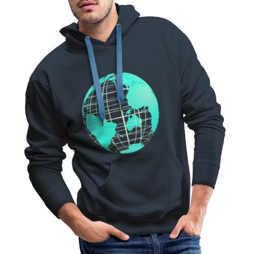 Goodies 2048 - Sweat-shirt à capuche Premium pour hommes
