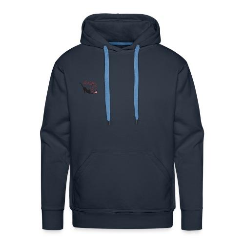 chaton 2 - Sweat-shirt à capuche Premium pour hommes