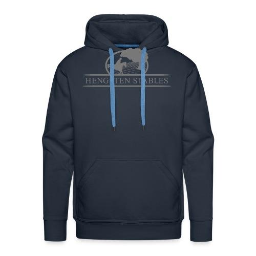 Logo grau - Männer Premium Hoodie