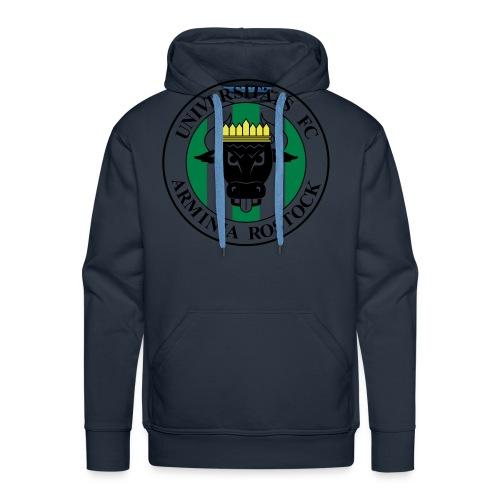 UFC Logo schwarz gelb grün - Männer Premium Hoodie