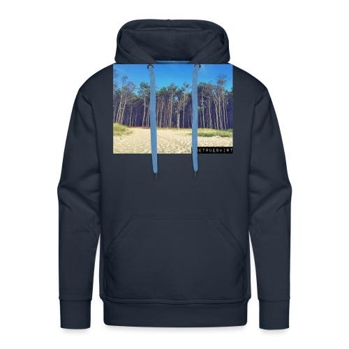 Plage de la Lagune - Sweat-shirt à capuche Premium pour hommes