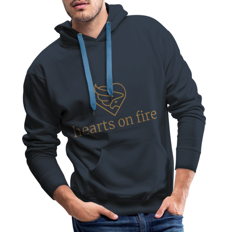 hearts on fire Signature - Männer Premium Hoodie