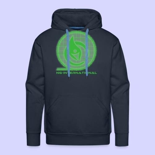 NGlogoX3grün - Männer Premium Hoodie