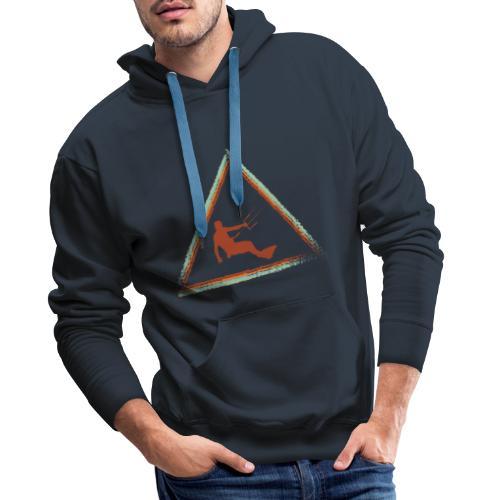 Wir kiten im Dreieck - Männer Premium Hoodie