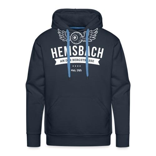 Hemsbach Eyeball - Männer Premium Hoodie
