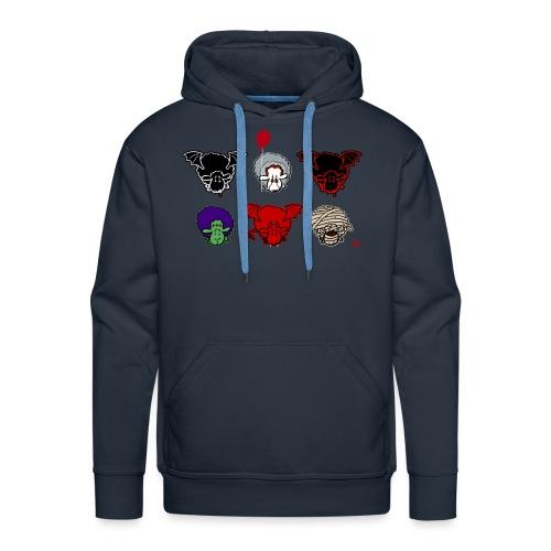 Moutons Creepers - Sweat-shirt à capuche Premium pour hommes