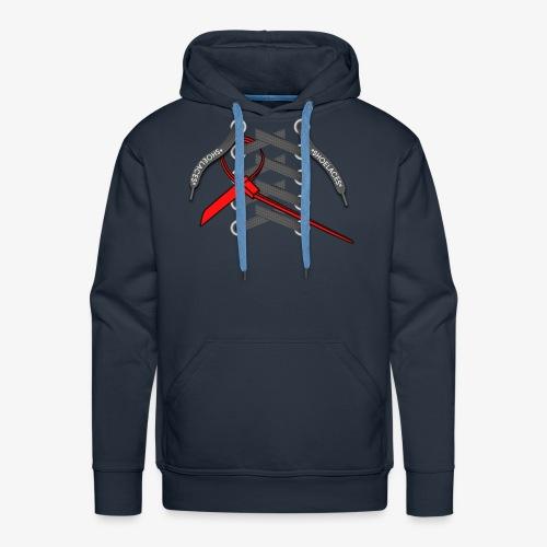 LACES - Sweat-shirt à capuche Premium pour hommes