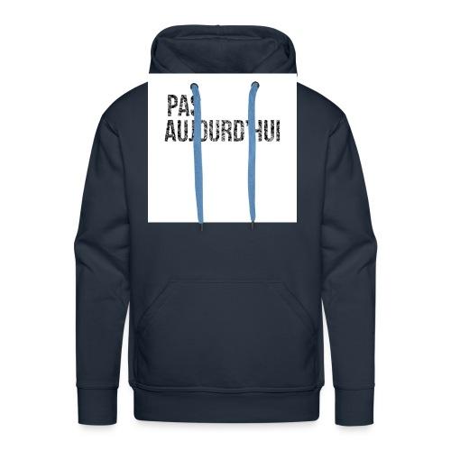 VisuelsT Shirts jpg - Sweat-shirt à capuche Premium pour hommes
