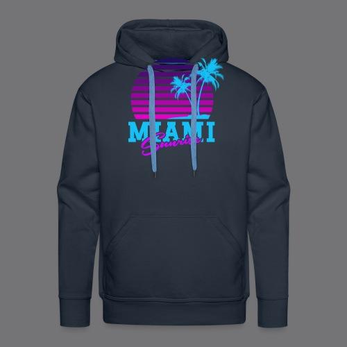 MIAMI SUNRISE t-shirts - Men's Premium Hoodie