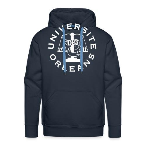 UNIVERSITÉ ORLÉANS DEG - Sweat-shirt à capuche Premium pour hommes