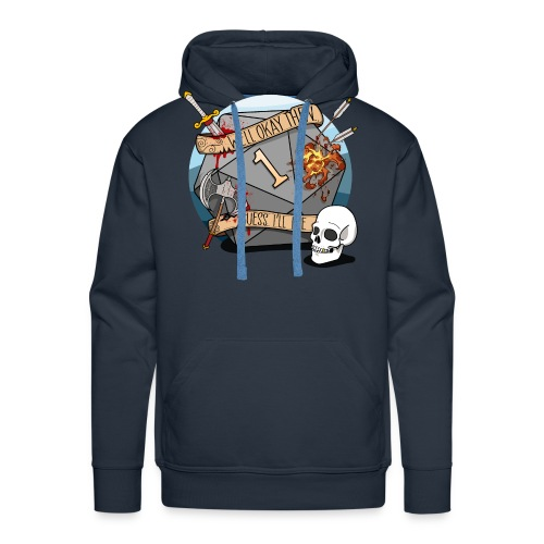 Guess I'll Die - DND D & D Dungeons and Dragons - Mannen Premium hoodie