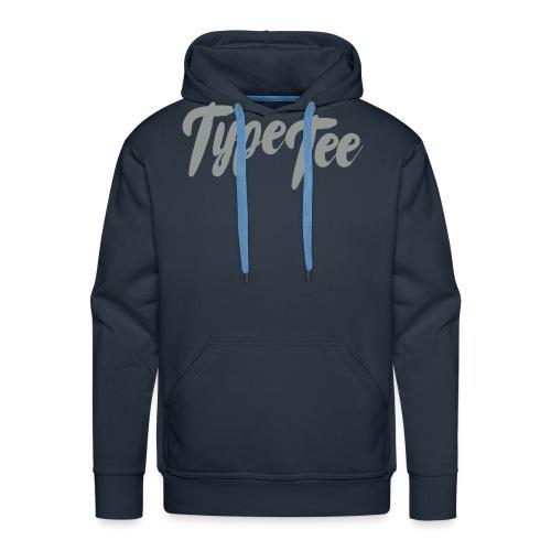 type tee logo13 - Mannen Premium hoodie