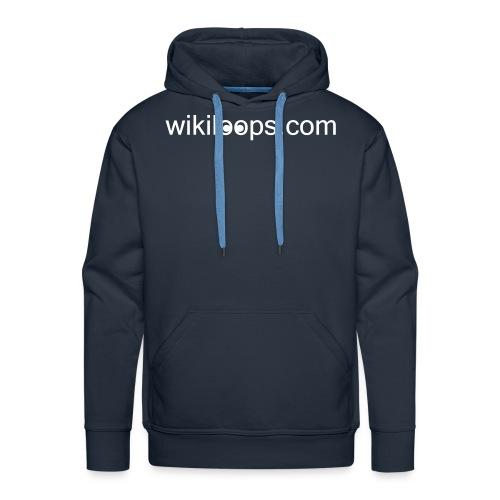 wikiloops_logo_long_AI - Men's Premium Hoodie