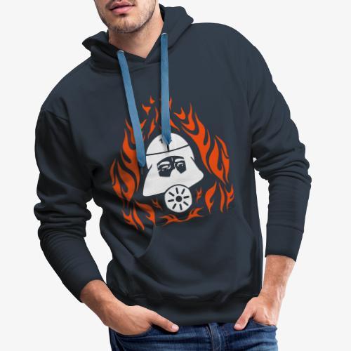 Atemschutz Flamme 2 - Männer Premium Hoodie
