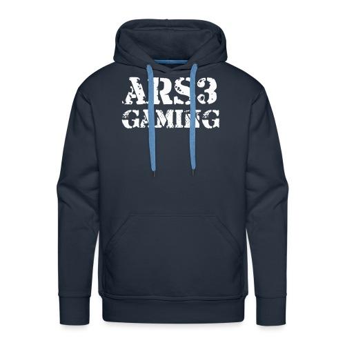 ars3gamingwhite - Men's Premium Hoodie