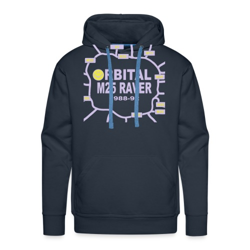 Orbital M25 Acid Hosue Raver - Men's Premium Hoodie