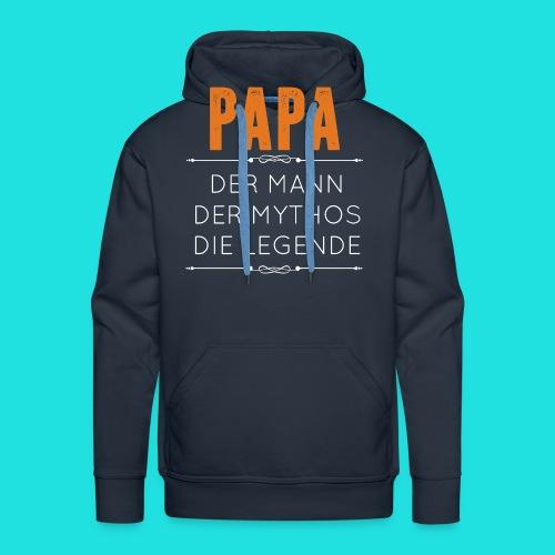 Papa - Männer Premium Hoodie